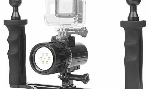 Griff Videoleuchte Actioncam