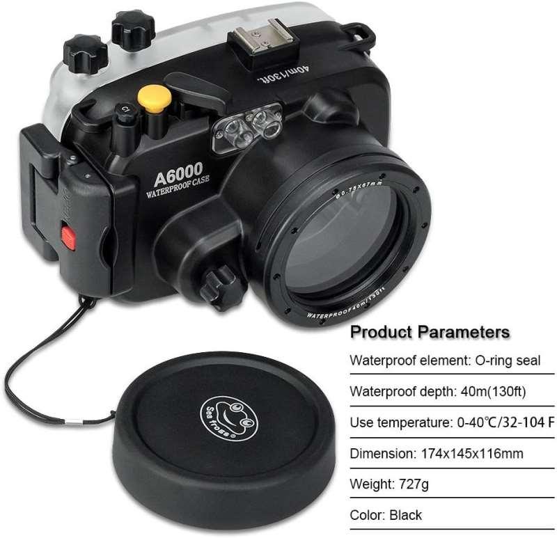 Unterwassergehäuse für Sony a6000